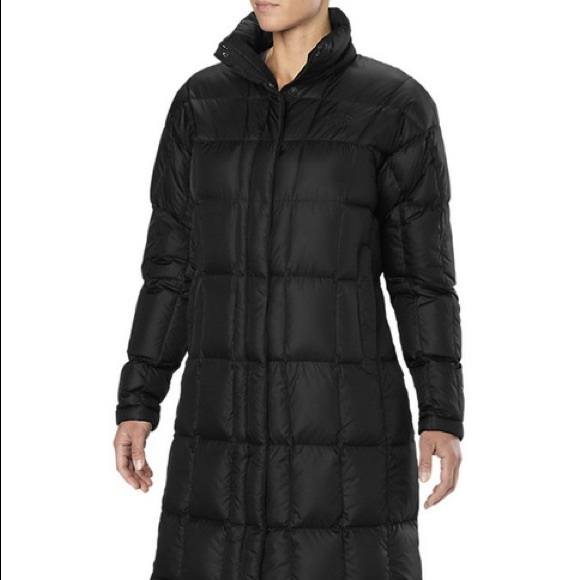 f8df942c6 North Face 600 down fill knee length jacket